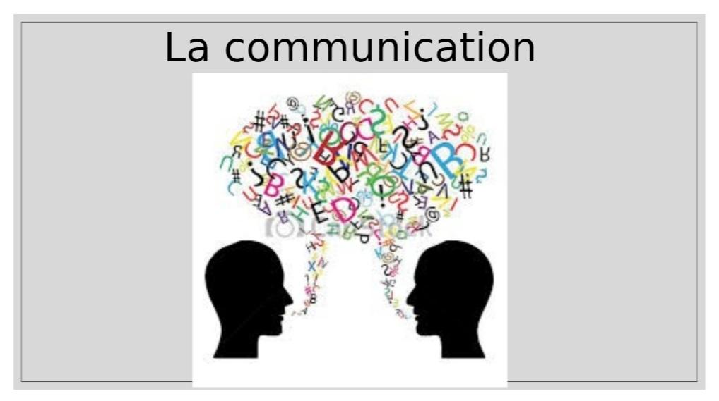 techniques d'expressions et de communication